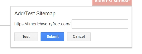 Step 4 Submit Sitemap