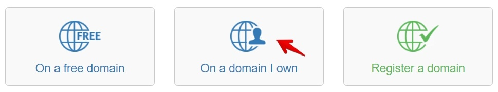Build a Site On My Domain