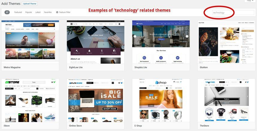 Technology Themes