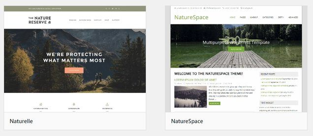 WordPress Theme for Camping