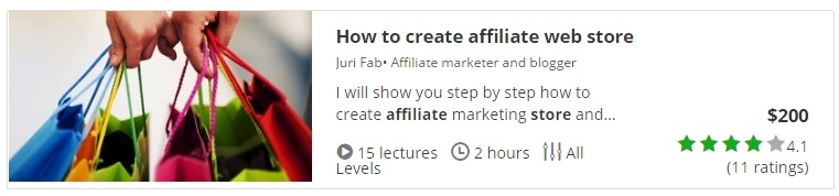 How to Create an Affiliate Store