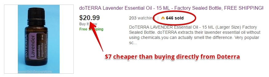 Doterra on eBay