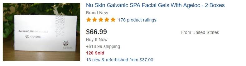 Nu Skin Selling on eBay