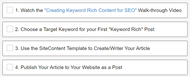 Level 2 Creating Keyword Rich Content