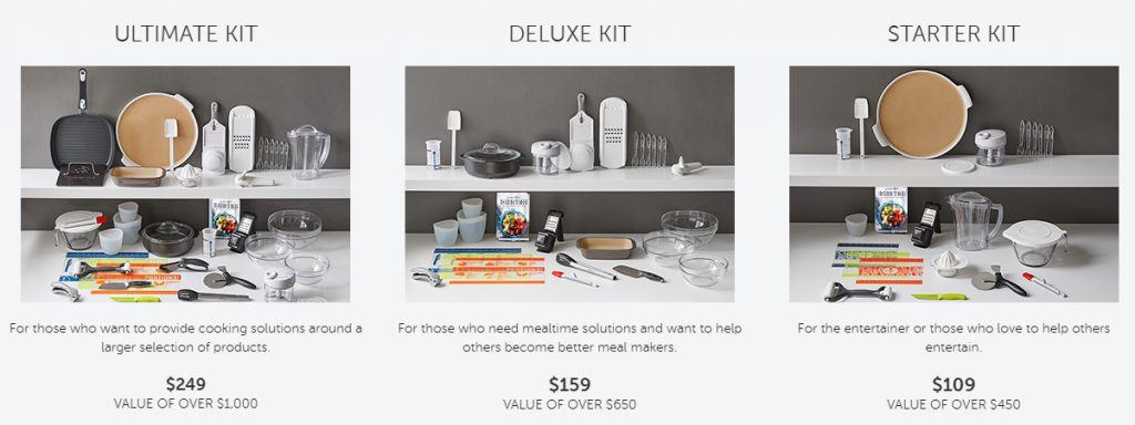 Pampered Chef Consultant Kits