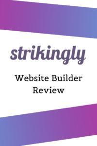 Strikingly Website Builder Review
