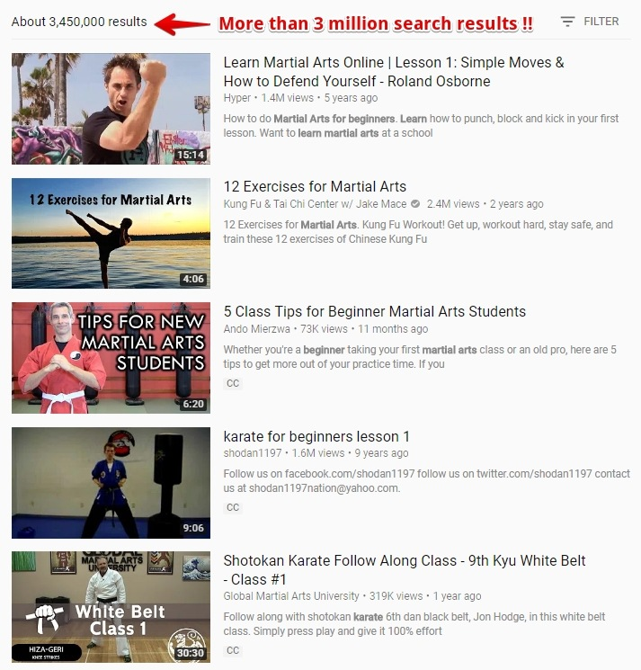YouTube Search Results for Martial Arts