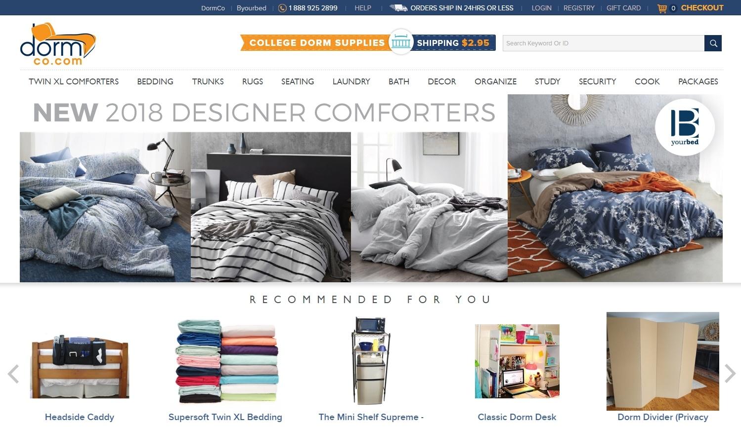 DormCo Homepage
