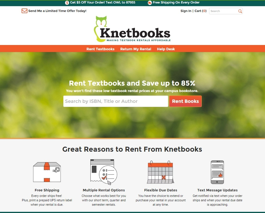 Knetbooks Homepage