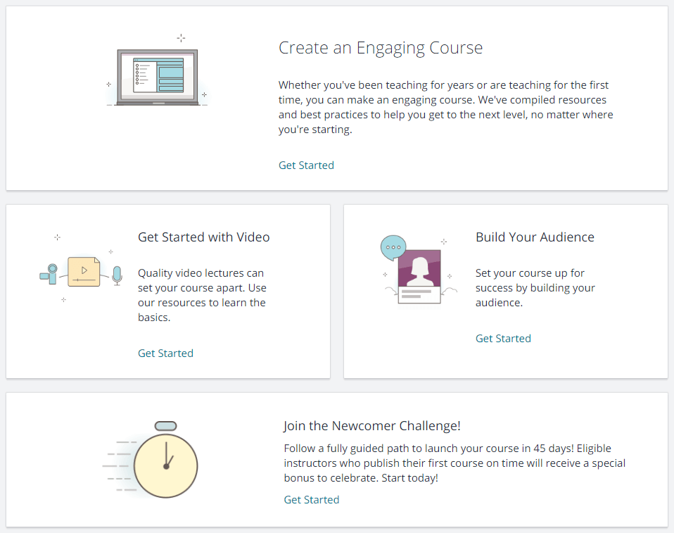 Instructors Resources on Udemy