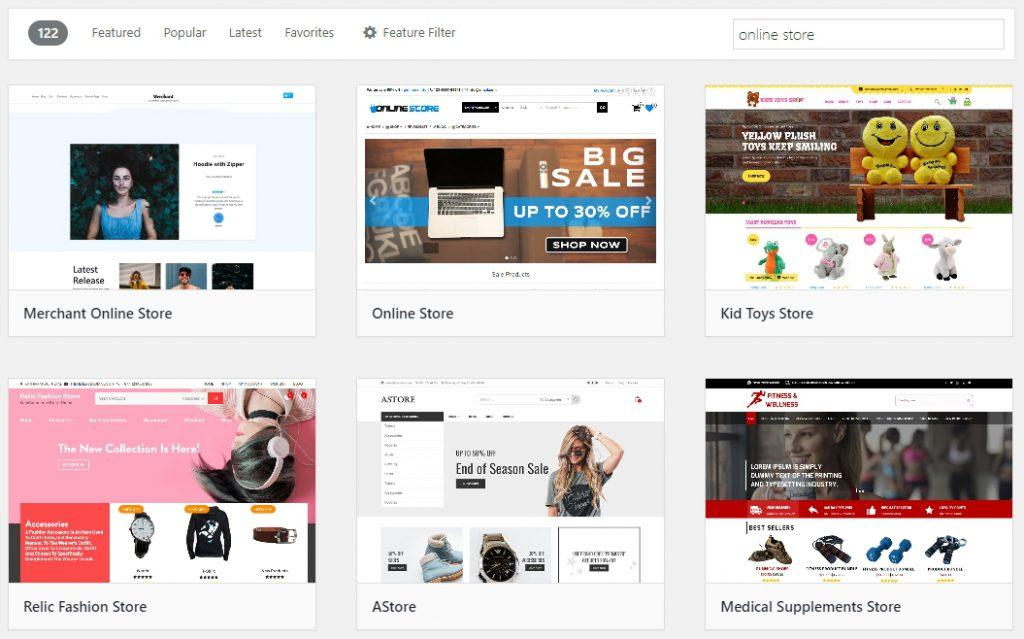 Free WordPress Theme for Online Stores