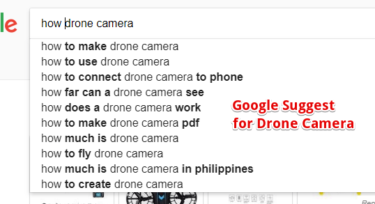 Google Suggest Ideas