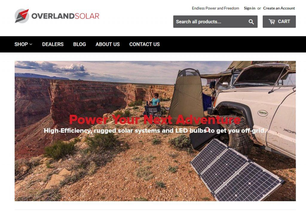 Overland Solar Homepage