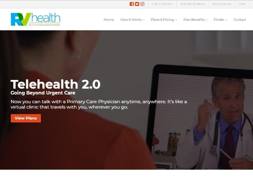 RV Health Homepage
