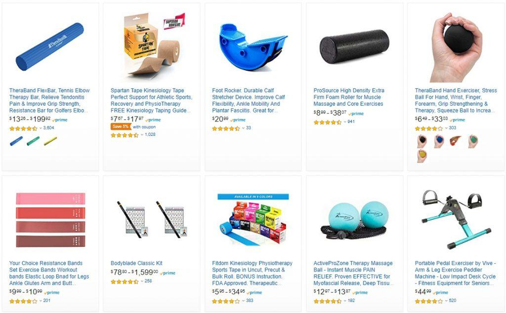 Amazon Physiotherapy Equipment