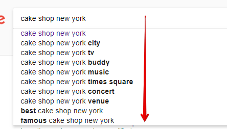 Google AutoSuggest for Local Keywords