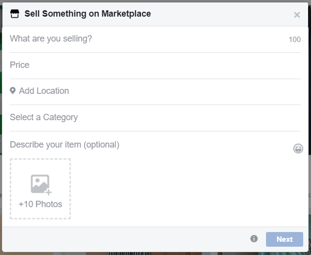 How to List on Facebook Marketplace