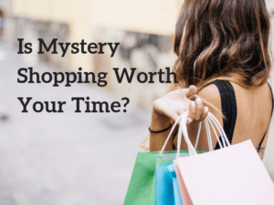 Get Paid for Mystery Shopping