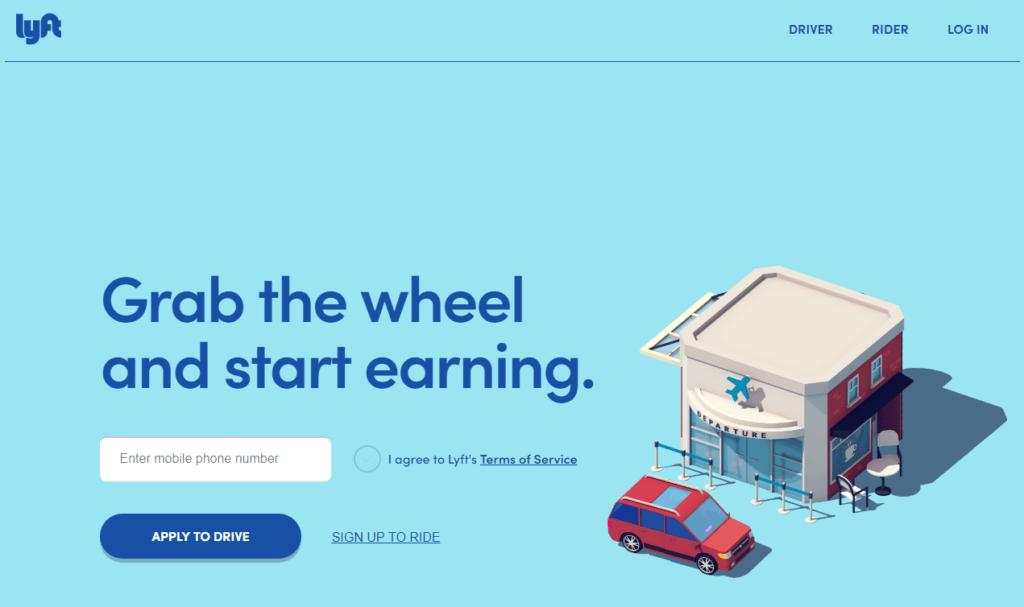 Lyft Homepage