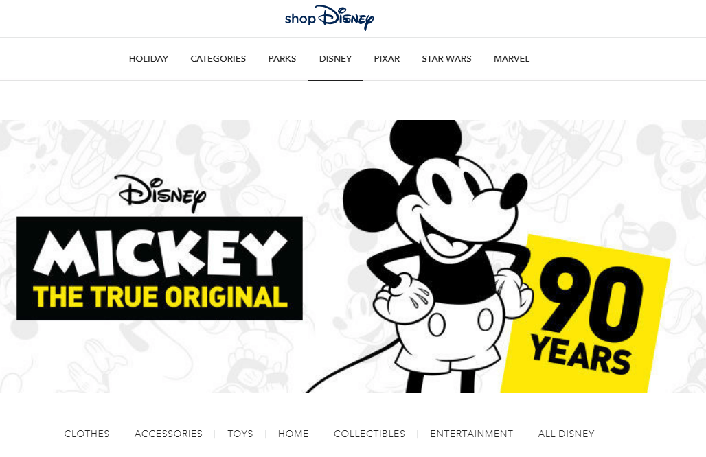 Disney Official Online Store