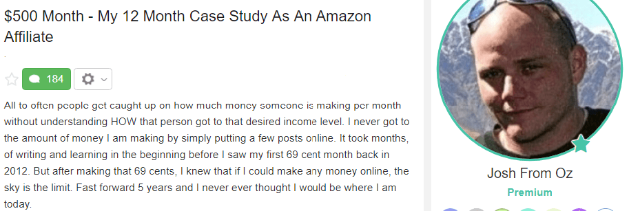 12 Month Case Study As An Amazon Affiliate