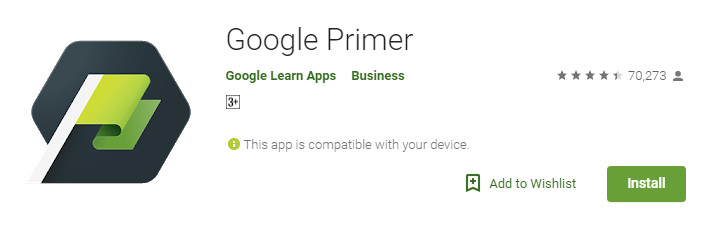 Google Primer on Google Play