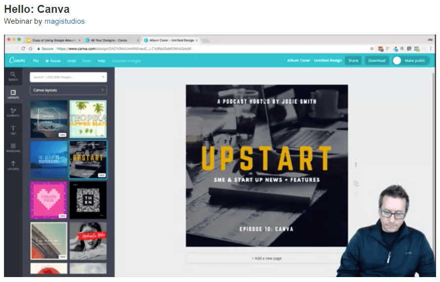 How to Create Graphics Using Canva