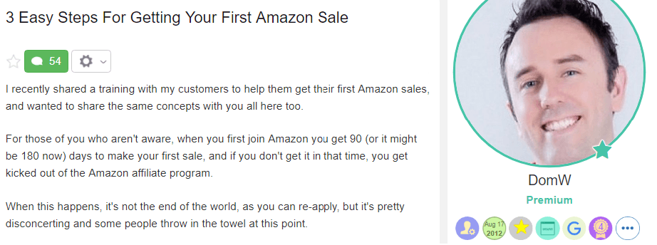 How to Get Your First Amazon Sale
