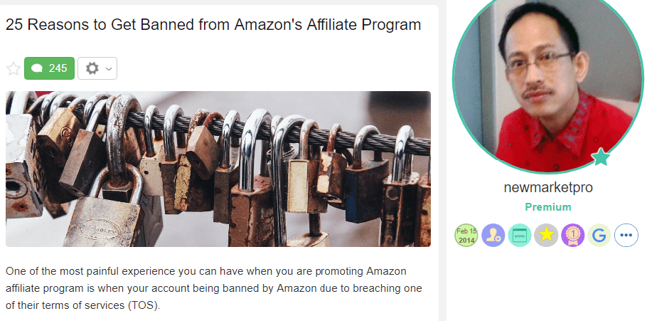 Reasons to Get Banned from Amazon Affiliate Program