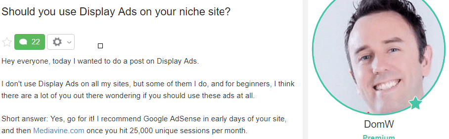 Should You Display Ads on Your Site