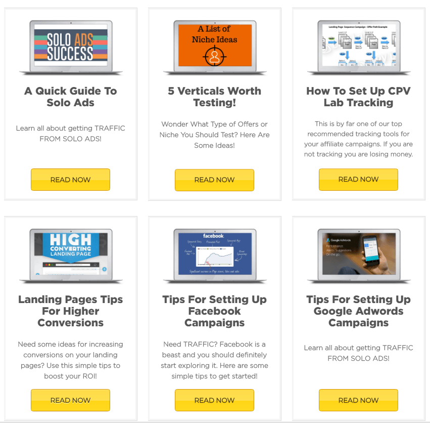 Additional Lesson Tutorials by Powerhouse Affiliate