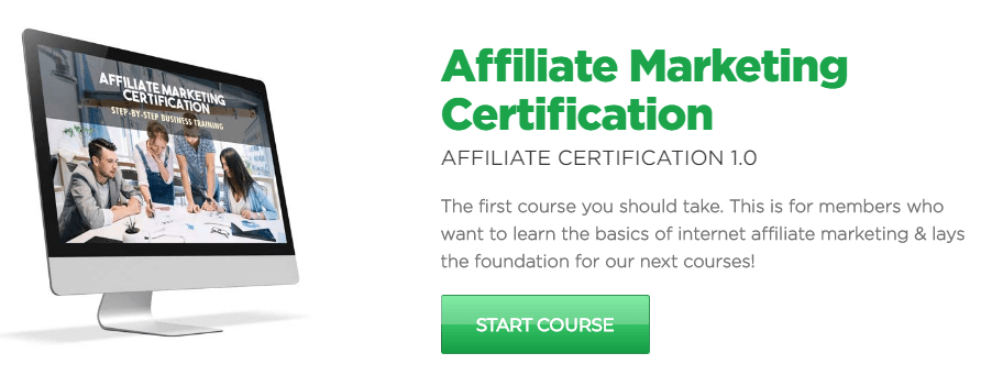Affiliate Marketing Certification by Powerhouse Affiliate