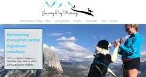 Journey Dog Training HomePage
