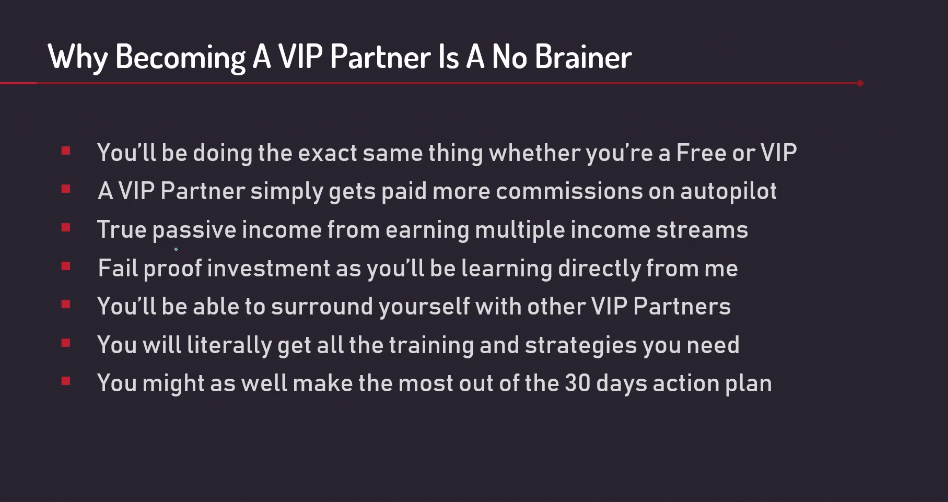 VIP Partner Benefits