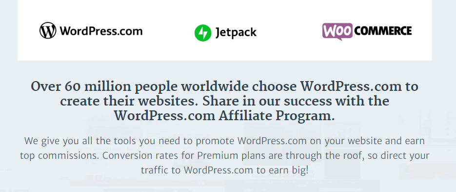 WordPress.com Affiliate Program