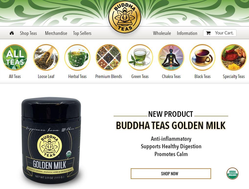 Buddha Teas Homepage