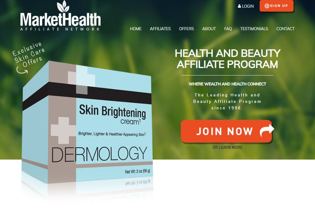Market Health Home Page