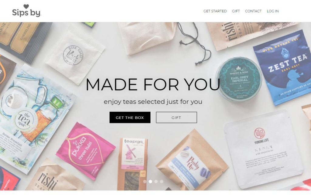 Sips By Homepage