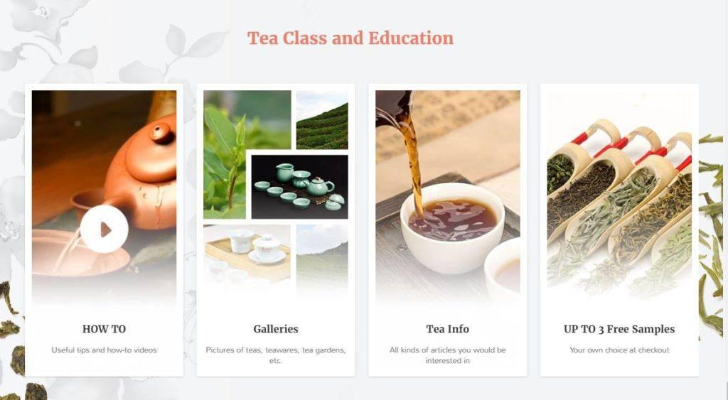 TeaVivre Homepage