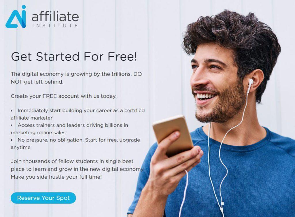 Affiliate Institute Homepage