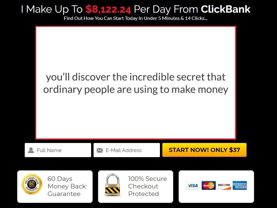 CB Cash Code Sales Page
