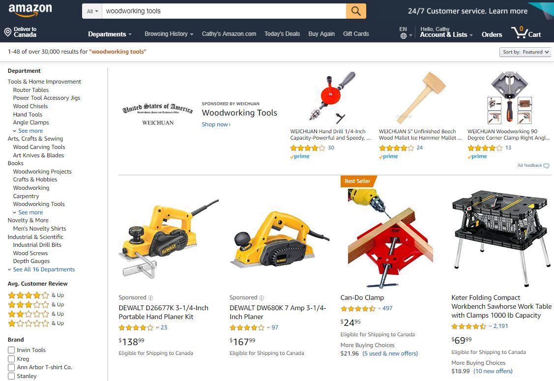 Home Improvement Tools on Amazon