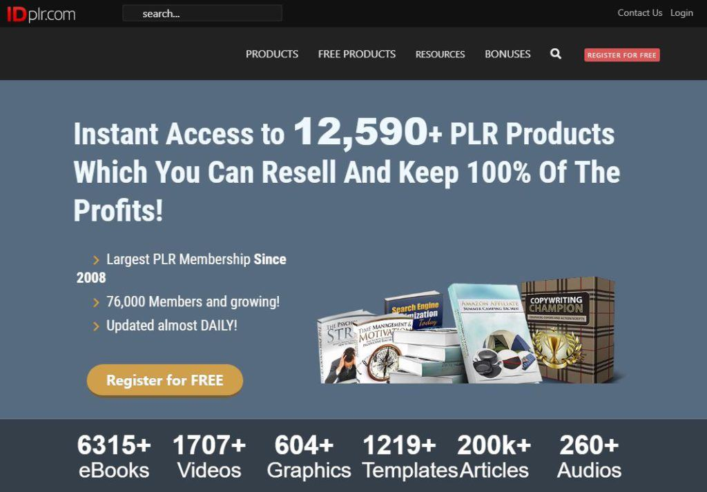 IDPLR Homepage