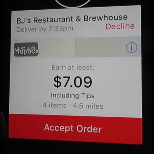 An Order for Doordash