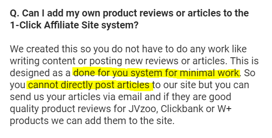 Cannot Post Articles to 1 Click System
