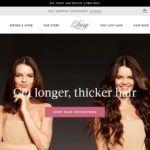 Luxy Hair Homepage