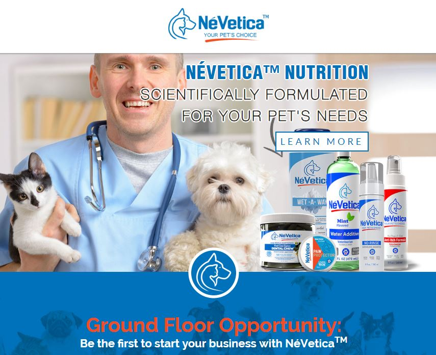 Nevetica Website