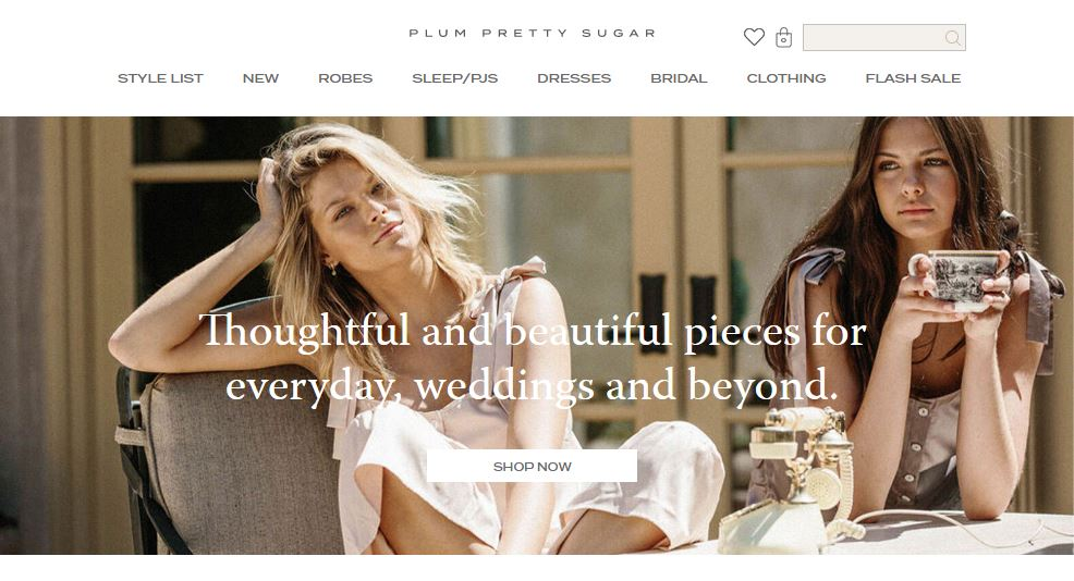 Plum Pretty Sugar Online Store