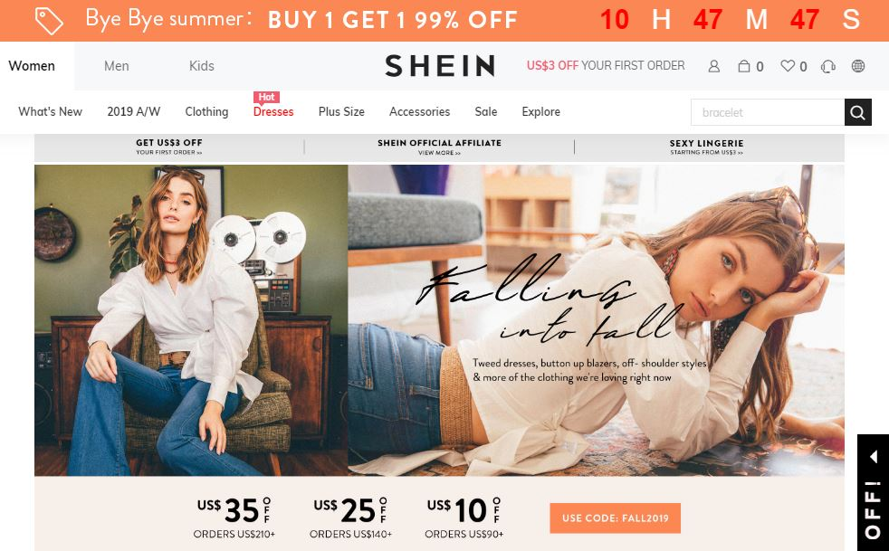 Shien Online Store