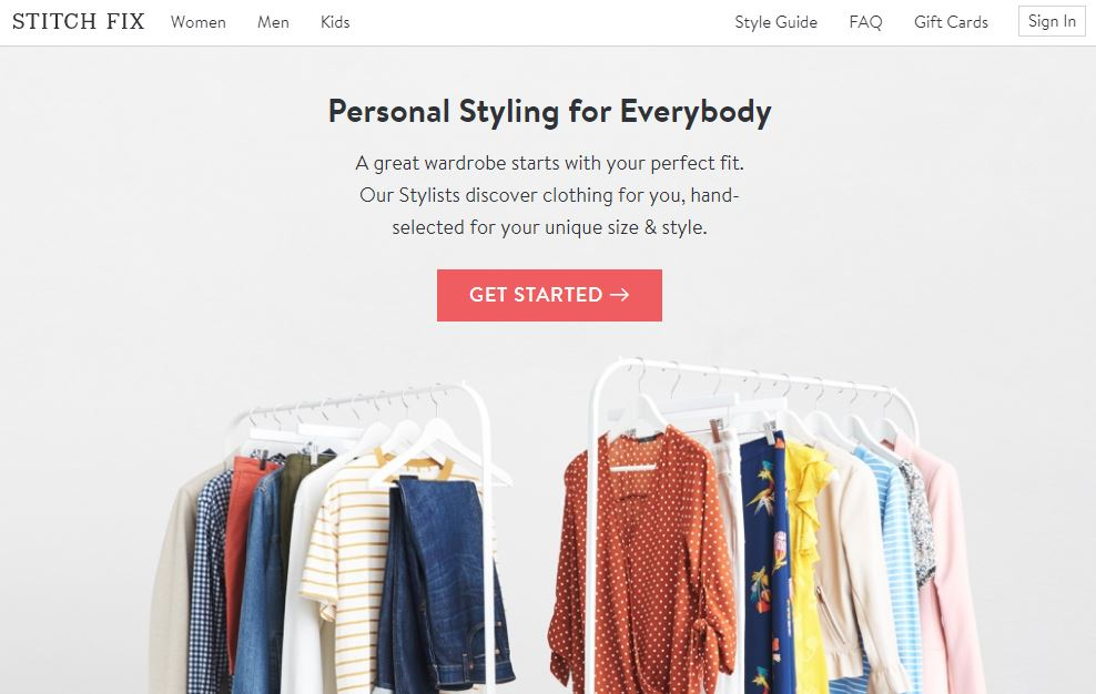 Stitch Fix Subscription Service